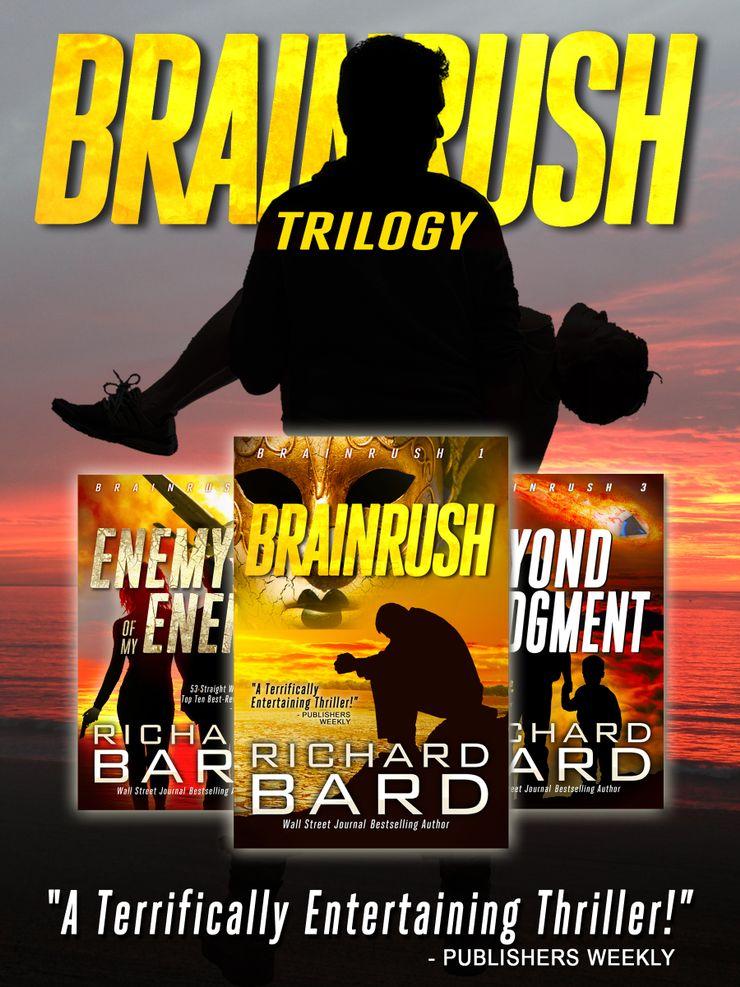 Buy The Brainrush Trilogy: Box Set at Amazon
